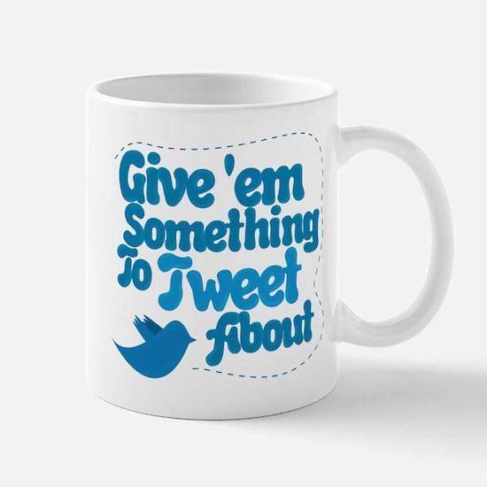 Tweet Blue Bird Mug
