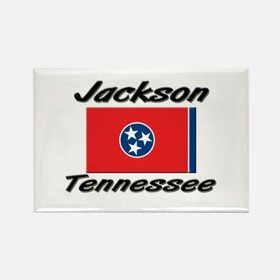 Jackson Tennessee Rectangle Magnet