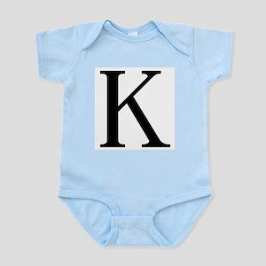 Kappa (Greek) Infant Creeper