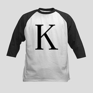Kappa (Greek) Kids Baseball Jersey