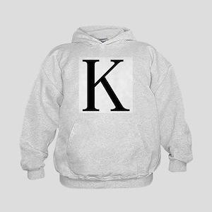 Kappa (Greek) Kids Hoodie