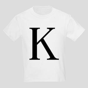 Kappa (Greek) Kids T-Shirt