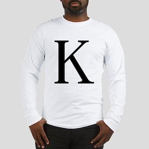Kappa (Greek) Long Sleeve T-Shirt