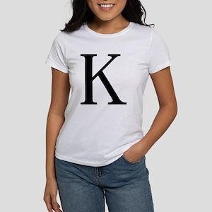 Kappa (Greek) Women's T-Shirt