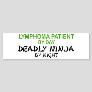 Lymphoma Patient Deadly Ninja Bumper Sticker