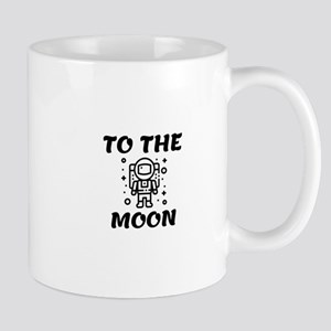 Astronaut to the Moon Mugs