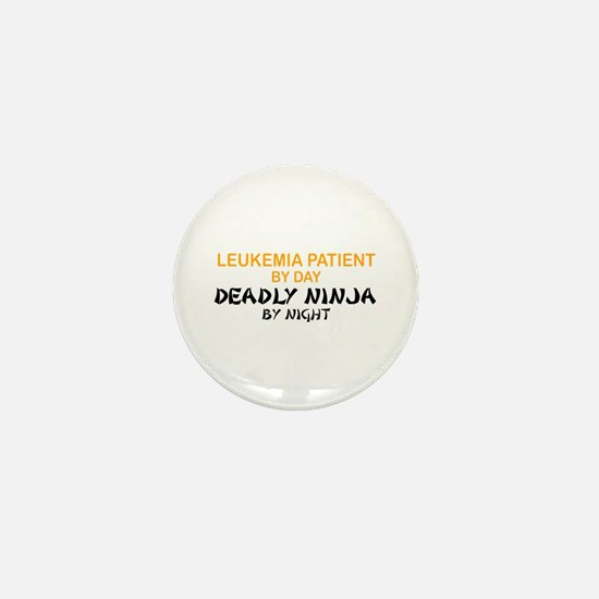 Leukemia Patient Deadly Ninja Mini Button