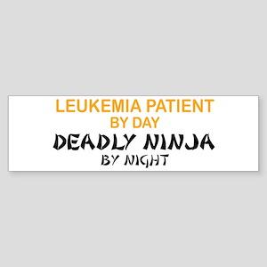 Leukemia Patient Deadly Ninja Bumper Sticker