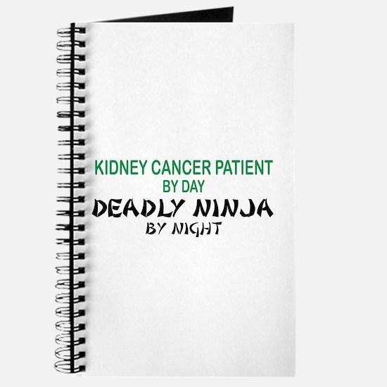 Kidney Patient Deadly Ninja Journal