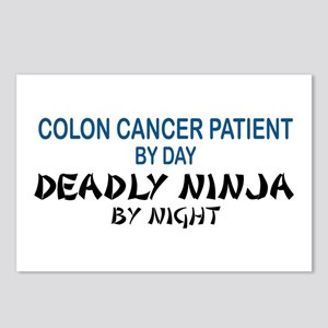 Colon Patient Deadly Ninja Postcards (Package of 8