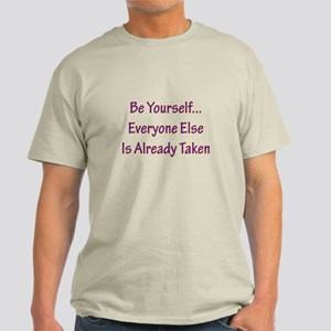 Be Yourself Light T-Shirt