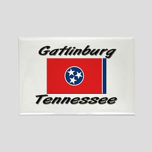 Gatlinburg Tennessee Rectangle Magnet