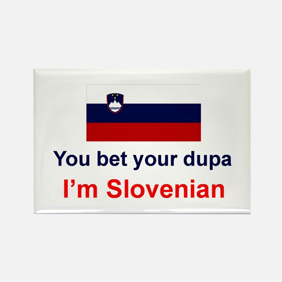 """Slovenian Dupa Magnet (3""""x2"""")"""