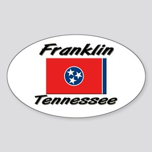 Franklin Tennessee Oval Sticker