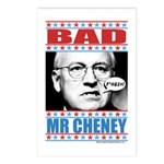 Bad Mr Cheney Postcards (Package of 8)