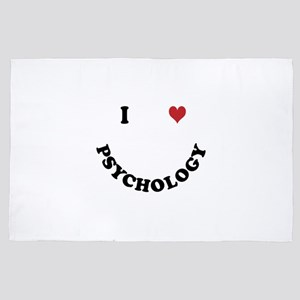 I love Psychology 4' x 6' Rug
