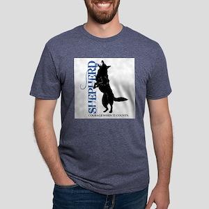German-Shepherd - FRONT- T-Shirt