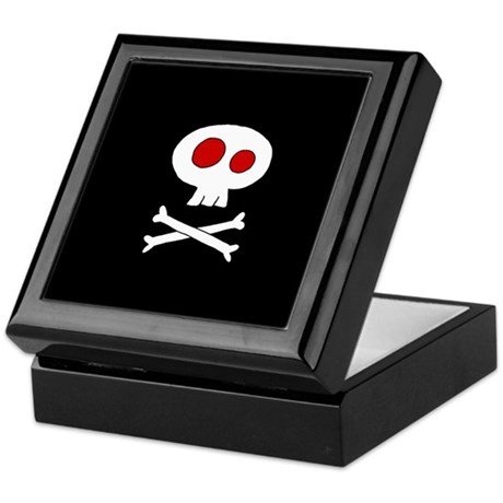 Cute Skull Keepsake Box