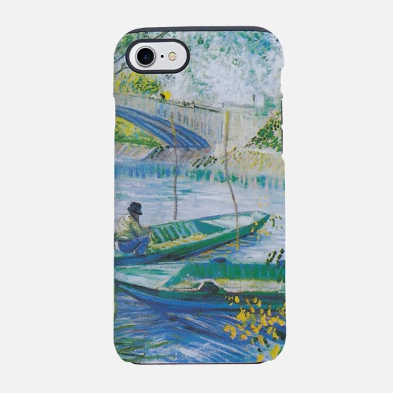 Van Gogh Fisherman and boats iPhone 7 Tough Case