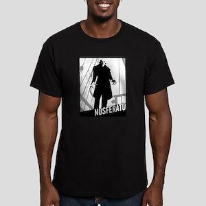 Nosferatu: Count Orlok Men's Fitted T-Shirt (dark)