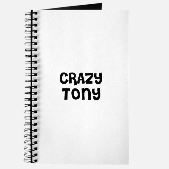 CRAZY TONY Journal