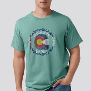 Colorado Its In My DNA Coloradan Flag T-Shirt