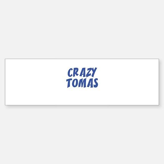CRAZY TOMAS Bumper Car Car Sticker