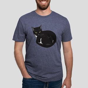 Tuxedo Cat Resting T-Shirt