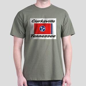 Clarksville Tennessee Dark T-Shirt