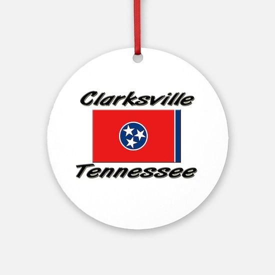 Clarksville Tennessee Ornament (Round)