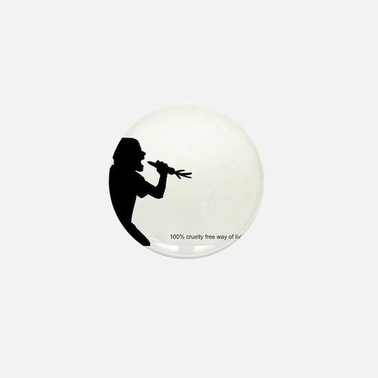 Animal liberation front Mini Button