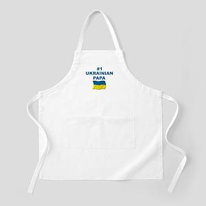 #1 Ukrainian Papa BBQ Apron