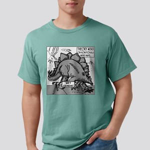 Dinosaurs & Wet Cement White T-Shirt