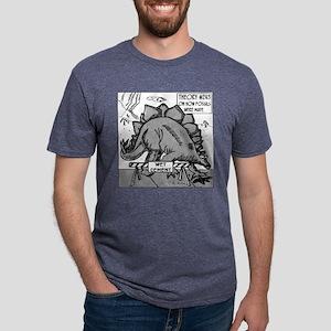 Dinosaurs & Wet Cement White T-Shirt