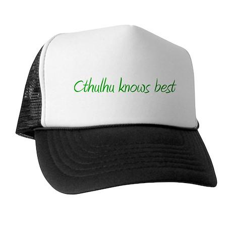 Cthulhu Knows Best Trucker Hat