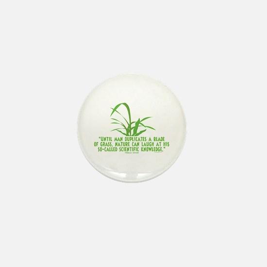 Edison Nature Quote Mini Button