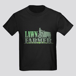 Lawn Farmer Kids Dark T-Shirt