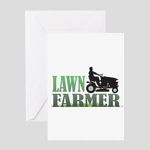 Lawn Farmer Greeting Card