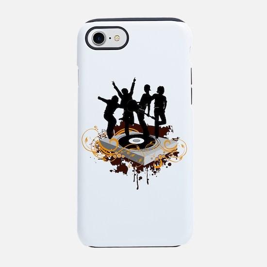 DJ Dancers iPhone 7 Tough Case