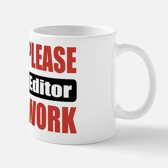 Video Editor Work Mug