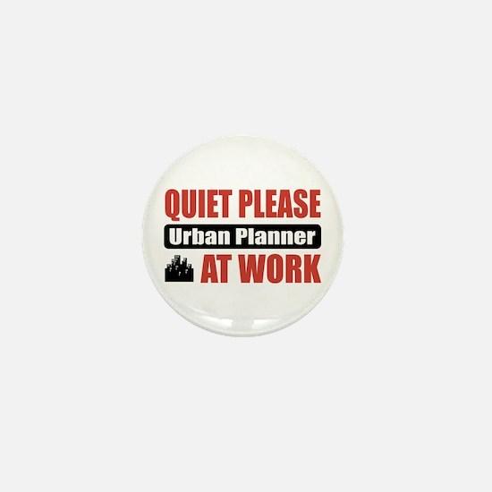 Urban Planner Work Mini Button