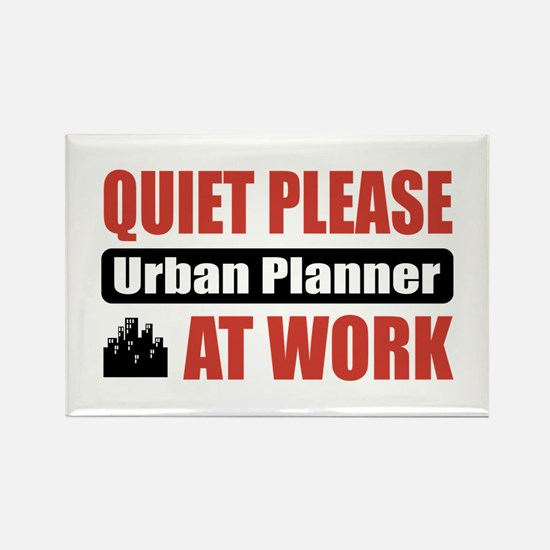 Urban Planner Work Rectangle Magnet