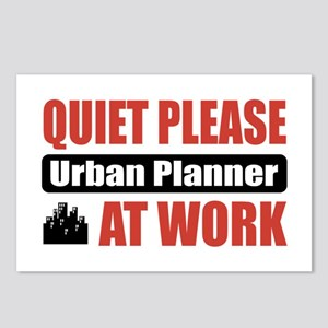 Urban Planner Work Postcards (Package of 8)