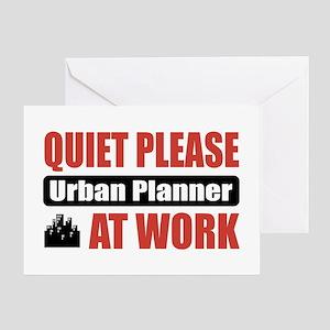 Urban Planner Work Greeting Card