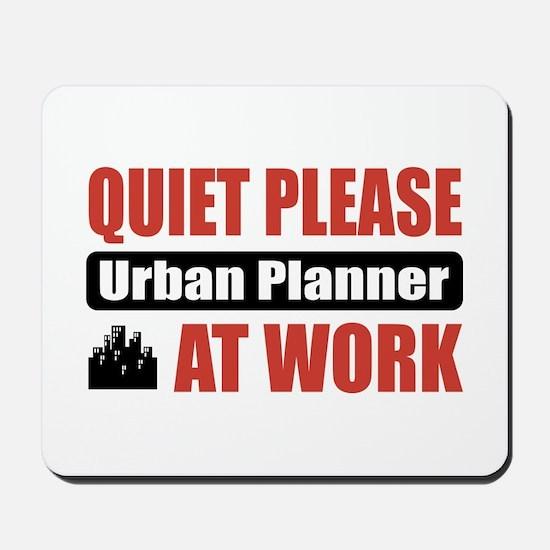 Urban Planner Work Mousepad
