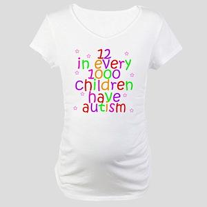 Autism Awareness Maternity T-Shirt