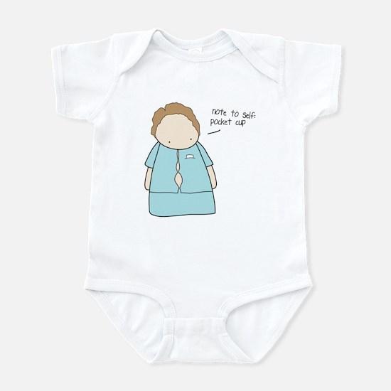 Tiny Fossil Pocket Cup Infant Bodysuit