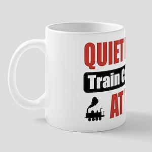 Train Collector Work Mug