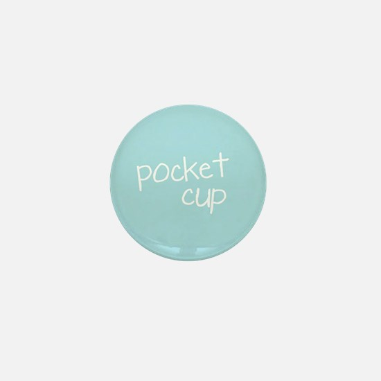 Tiny Fossil Pocket Cup Mini Button