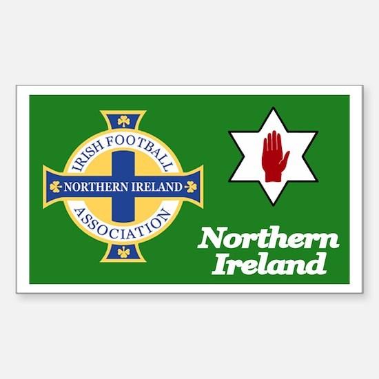 Northern Ireland football Sticker (10 pk)